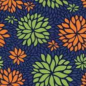 цветочные бесшовные модели — Cтоковый вектор
