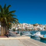 Greek fishing boats in Sitia. — Stock Photo #42488661