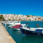 Greek fishing boats in Sitia. — Stock Photo #42488733