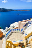 The traditional architecture of Santorini. — Stock Photo