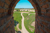 View of the Old Castle of its loopholes — Stock Photo