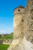 View of the tower of the Old Castle — Stock Photo