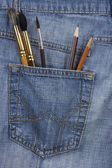 Artist's pocket — Stockfoto