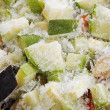 Frozen vegetable mix — Stock Photo