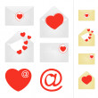 Love mail. — Stock Vector #38599171