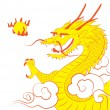 Chinese dragon — Stock Vector #39958589