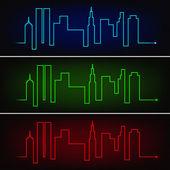 City pulse — Stock Vector