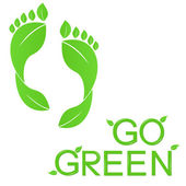 Go Green! — Stock vektor