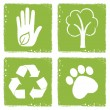 Eco friendly icons — Stock Vector #47155755