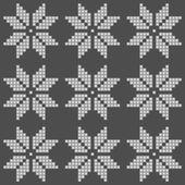 Wzór płatki śniegu — Wektor stockowy