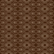 Brown Abstract Seamless Pattern — Imagen vectorial
