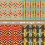 4 retro patterns — Stock Vector #44040145