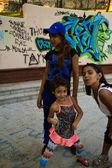 Street children - Macka park, Istanbul — Stock Photo