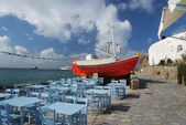 Taverna by the sea — Stock Photo