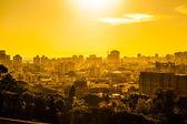 Sunset, urban scene — Foto de Stock