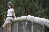 Beautiful Brazilian Girl — Stock Photo