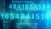 Technological Numbers — Stock Photo