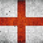 Flag of England — Stock Vector