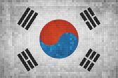 Flag of Korea — Stock Vector