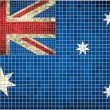 Australian Flag Mosaic — Stock Vector #50064745