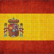 Mosaic Flag of Spain — Vector de stock  #51786483