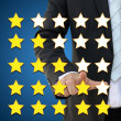 Business performance evaluation in rating concept — Stock Photo