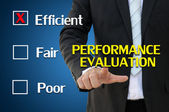 Performance evaluation for human resources concept — Stock Photo