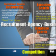 Recruitment Agency Business for human resource concept — Стоковая фотография
