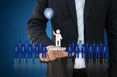 Leiderschap concept — Stockfoto