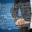 Stock Photo: Content Marketing Concept