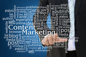 Content Marketing Concept — Stock Photo