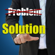 Stock Photo: Business solution concept