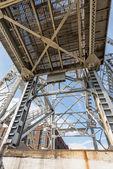 Struktur aus metall — Stockfoto