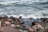 Rive du lac rocky — Photo