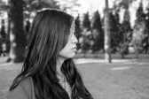Hopeful woman — Stok fotoğraf