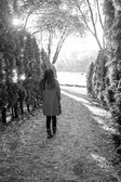 çekip kadın — Stok fotoğraf