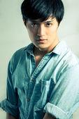 Fashion pose by male model — Stock fotografie