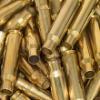 Pile of empty bullet shells — Foto Stock