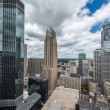 Downtown Minneapolis and surrounding urban — Stock Photo #36744111