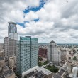 Downtown Minneapolis and surrounding urban — Stock Photo #36748133