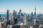 Scenic view of downtown Toronto — 图库照片