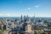 Scenic view of downtown Toronto — Stock Photo