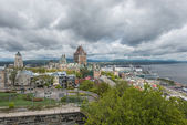 City view of old Quebec — Stock Photo