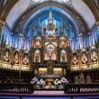 Interior of Notre-Dame Basilica — Stock Photo