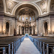 Interior of Cathedral of Saint Paul — ストック写真
