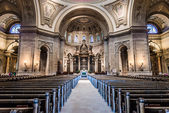 Interior of Cathedral of Saint Paul — Foto Stock