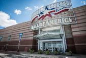 Hoofdingang van de mall of america — Stockfoto