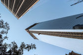 World financial center in New York City — Stock Photo