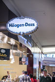 Haagen Dazs store and logo in Mall of America — Stock Photo