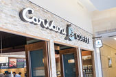 Caribou Coffee store and logo in Mall of America — Photo